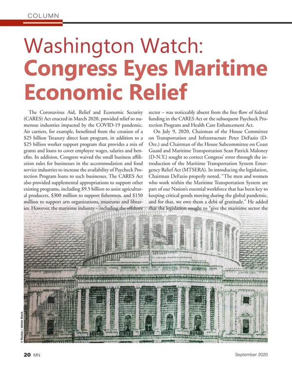 Marine News Magazine, page 20,  Sep 2020