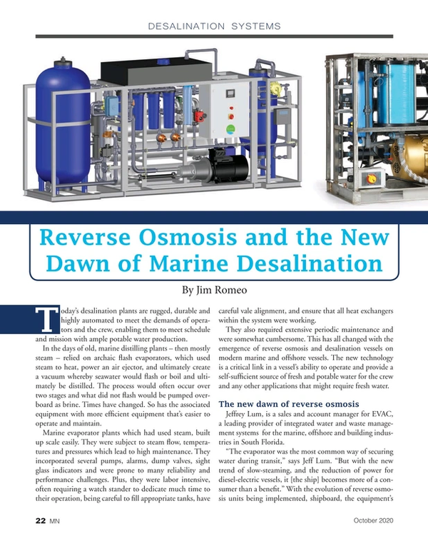 Marine News Magazine, page 22,  Oct 2020