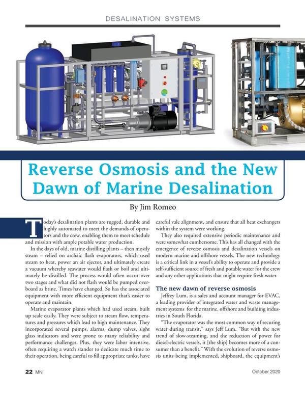 Marine News Magazine, page 22,  Oct 2020