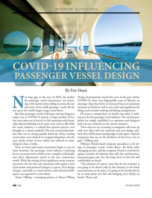 Marine News Magazine, page 40,  Oct 2020