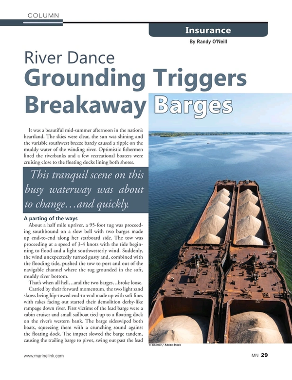 Marine News Magazine, page 29,  Nov 2020