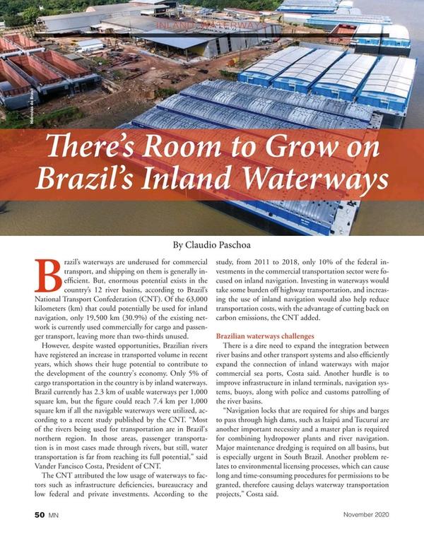 Marine News Magazine, page 50,  Nov 2020