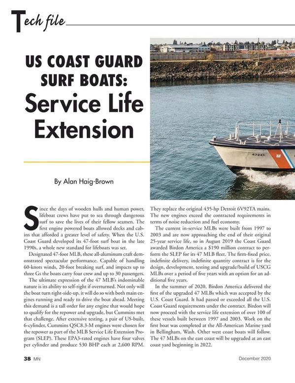 Marine News Magazine, page 38,  Dec 2020