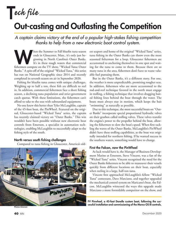 Marine News Magazine, page 40,  Dec 2020