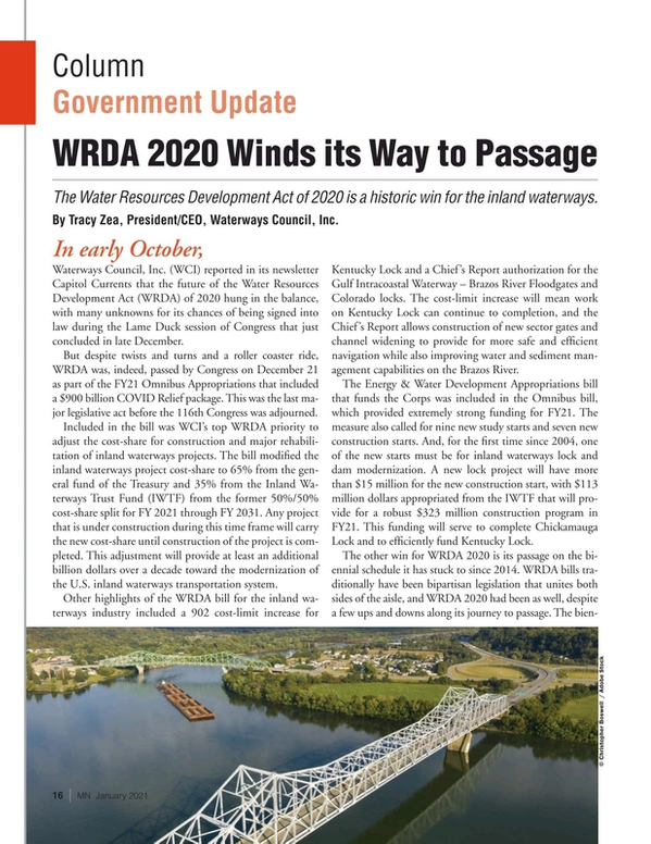 Marine News Magazine, page 16,  Jan 2021