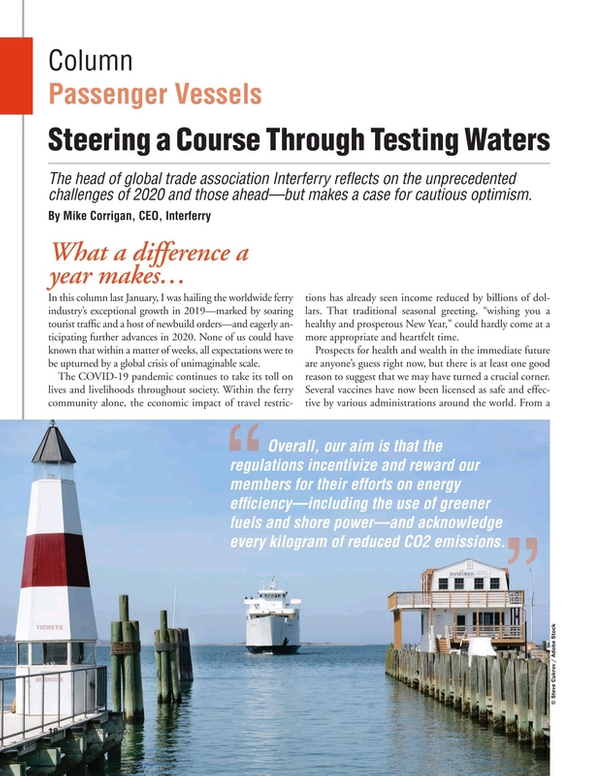 Marine News Magazine, page 18,  Jan 2021