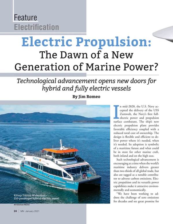 Marine News Magazine, page 24,  Jan 2021