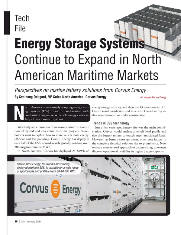 Marine News Magazine, page 38,  Jan 2021