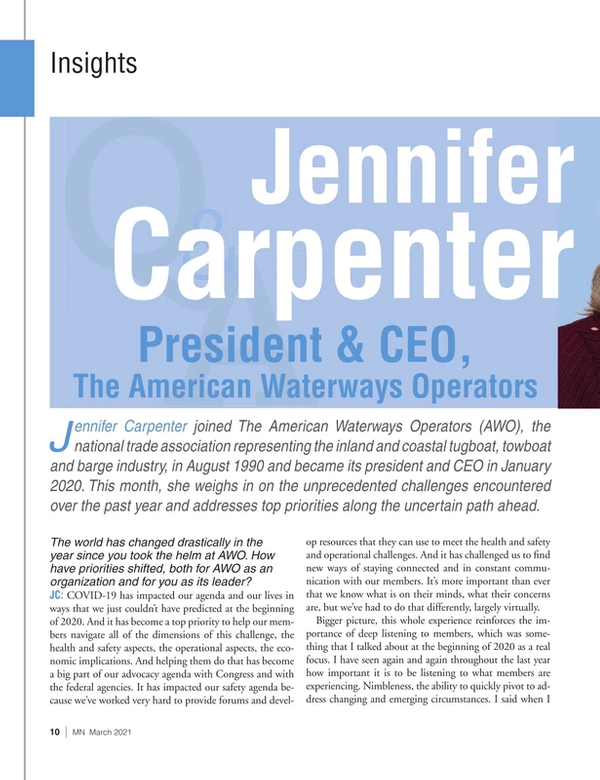 Marine News Magazine, page 10,  Mar 2021
