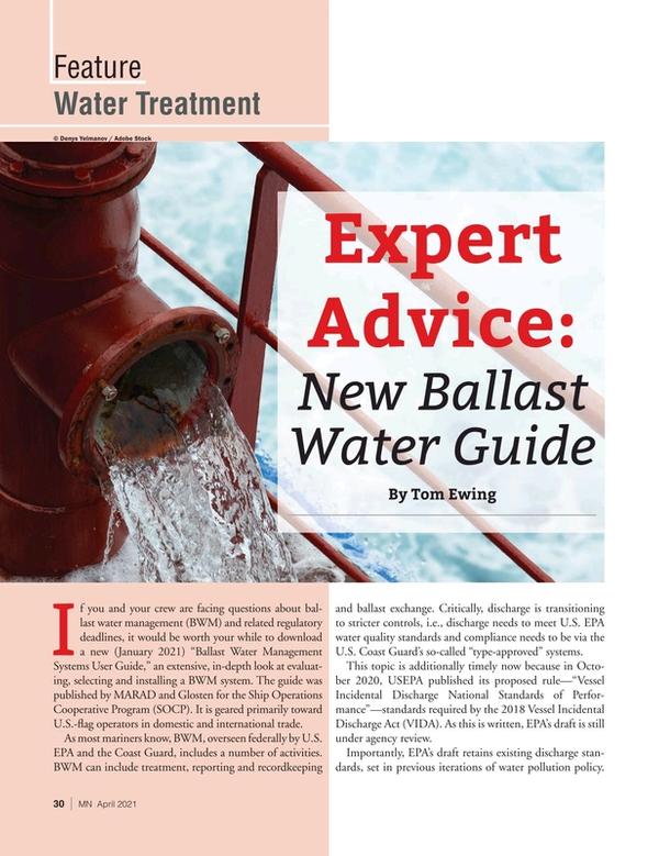 Marine News Magazine, page 30,  Apr 2021