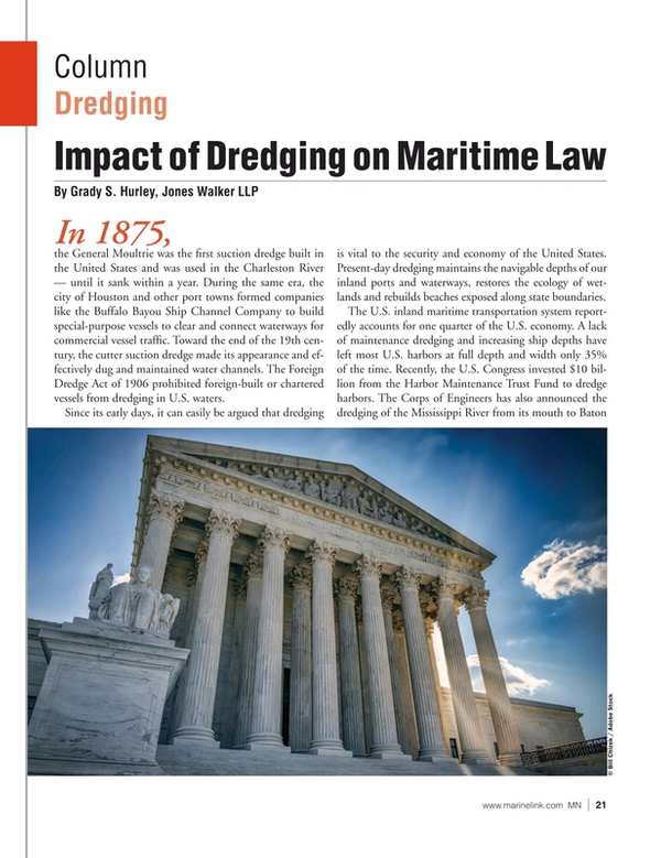Marine News Magazine, page 21,  May 2021