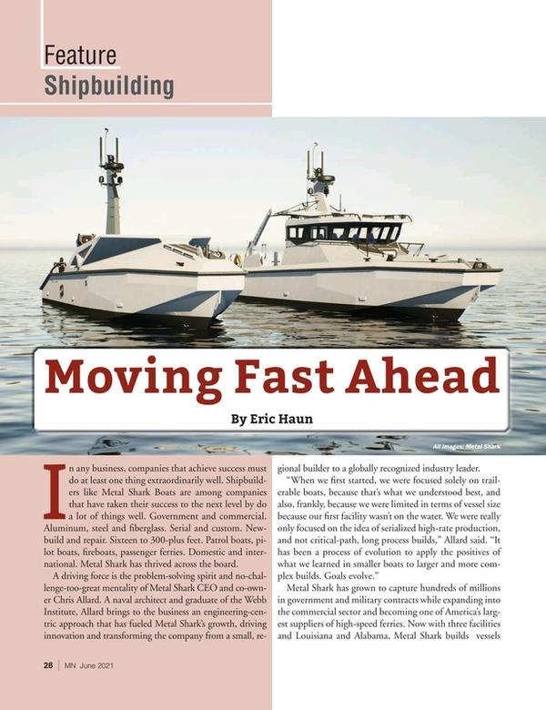 Marine News Magazine, page 28,  Jun 2021