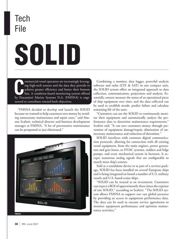 Marine News Magazine, page 38,  Jun 2021
