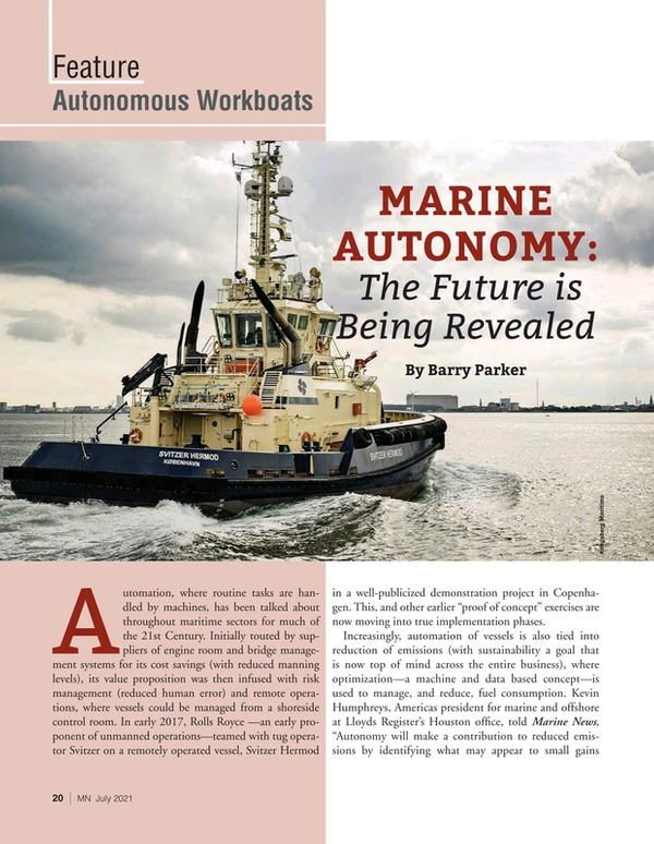 Marine News Magazine, page 20,  Jul 2021