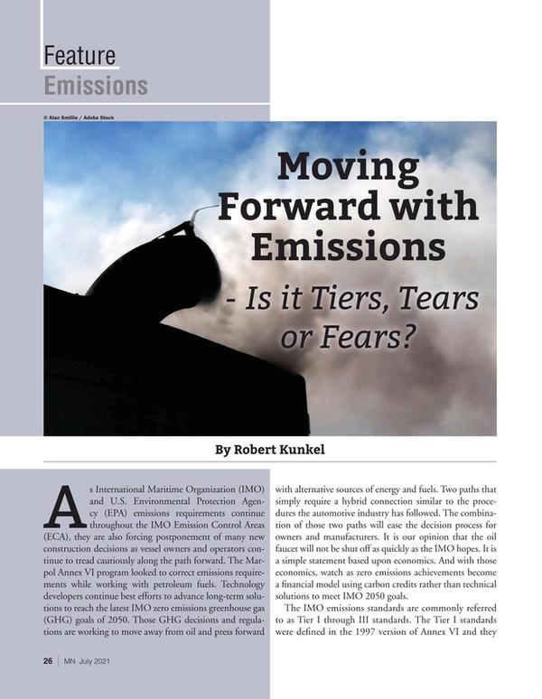 Marine News Magazine, page 26,  Jul 2021