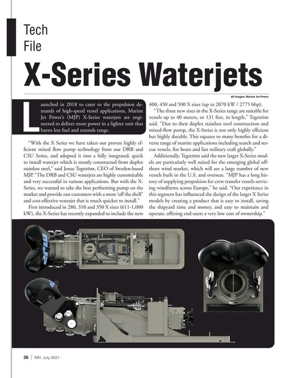 Marine News Magazine, page 36,  Jul 2021