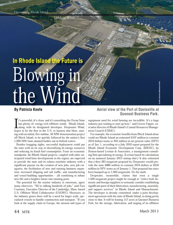 Marine Technology Magazine, page 44,  Mar 2013