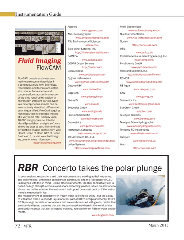 Marine Technology Magazine, page 72,  Mar 2013 steel deck