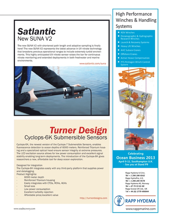 Marine Technology Magazine, page 73,  Mar 2013 United Kingdom