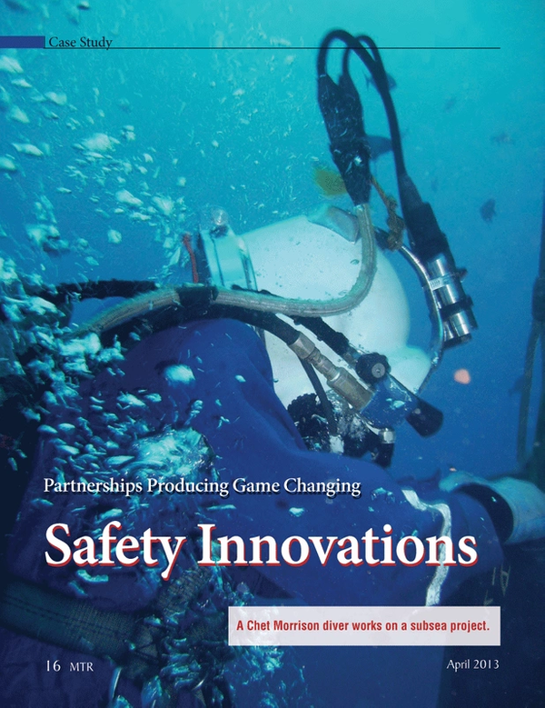 Marine Technology Magazine, page 16,  Apr 2013