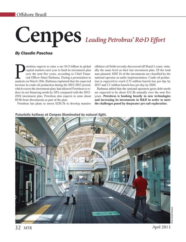 Marine Technology Magazine, page 32,  Apr 2013
