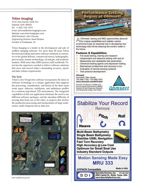 Marine Technology Magazine, page 43,  Jul 2013 John ThomasEngineering