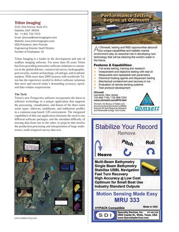 Marine Technology Magazine, page 43,  Jul 2013 John ThomasEngineering