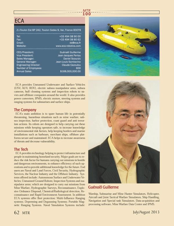 Marine Technology Magazine, page 62,  Jul 2013 Louis SambarinoEngineering