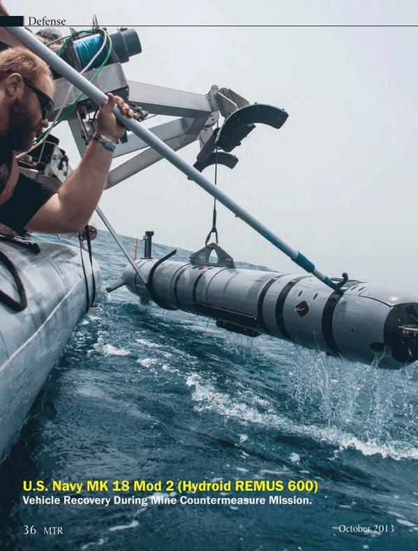 Marine Technology Magazine, page 36,  Oct 2013