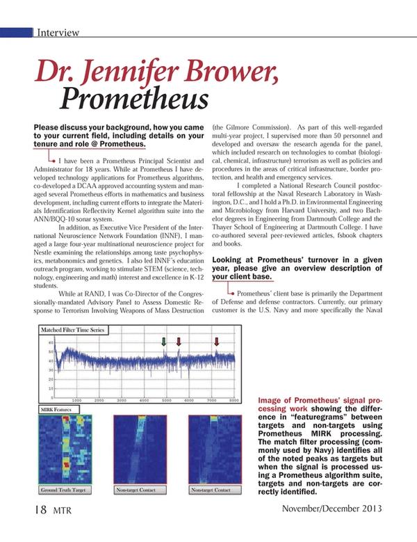 Marine Technology Magazine, page 18,  Nov 2013 Gilmore Commission