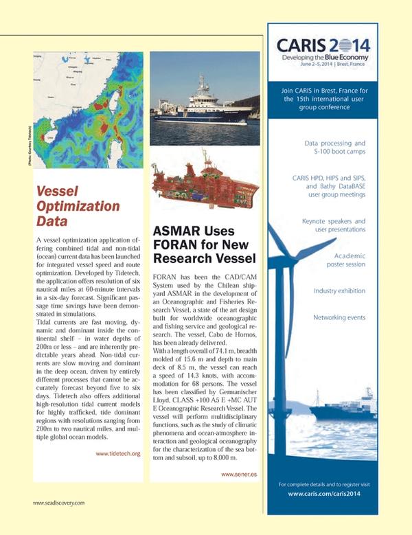 Marine Technology Magazine, page 59,  Jan 2014