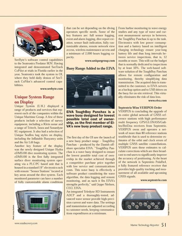 Marine Technology Magazine, page 51,  Apr 2014
