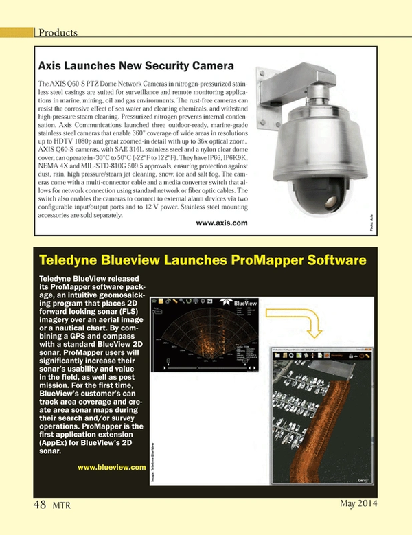 Marine Technology Magazine, page 48,  May 2014