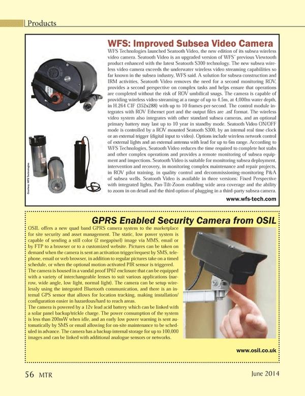 Marine Technology Magazine, page 56,  Jun 2014