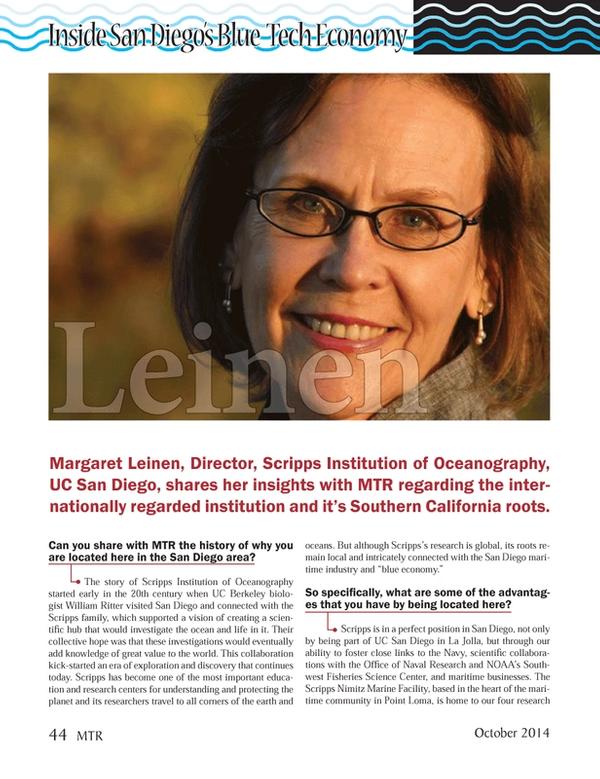 Marine Technology Magazine, page 44,  Oct 2014