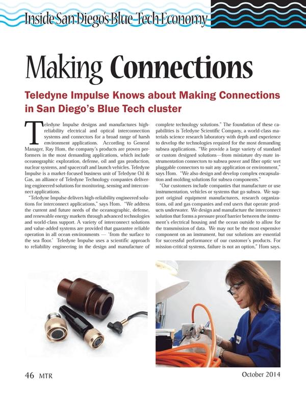 Marine Technology Magazine, page 46,  Oct 2014