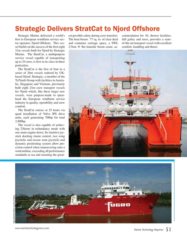 Marine Technology Magazine, page 51,  Apr 2015