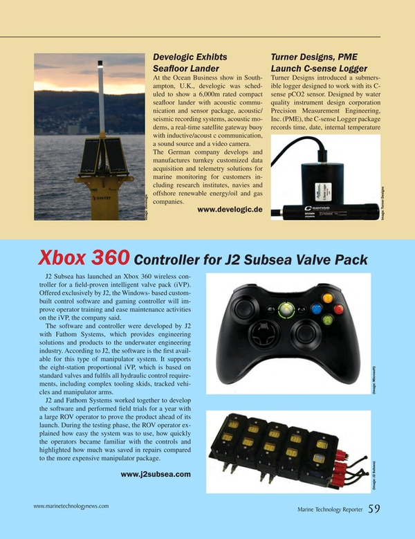 Marine Technology Magazine, page 59,  Apr 2015