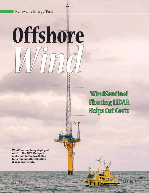 Marine Technology Magazine, page 22,  May 2015