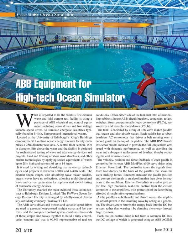 Marine Technology Magazine, page 20,  Jun 2015