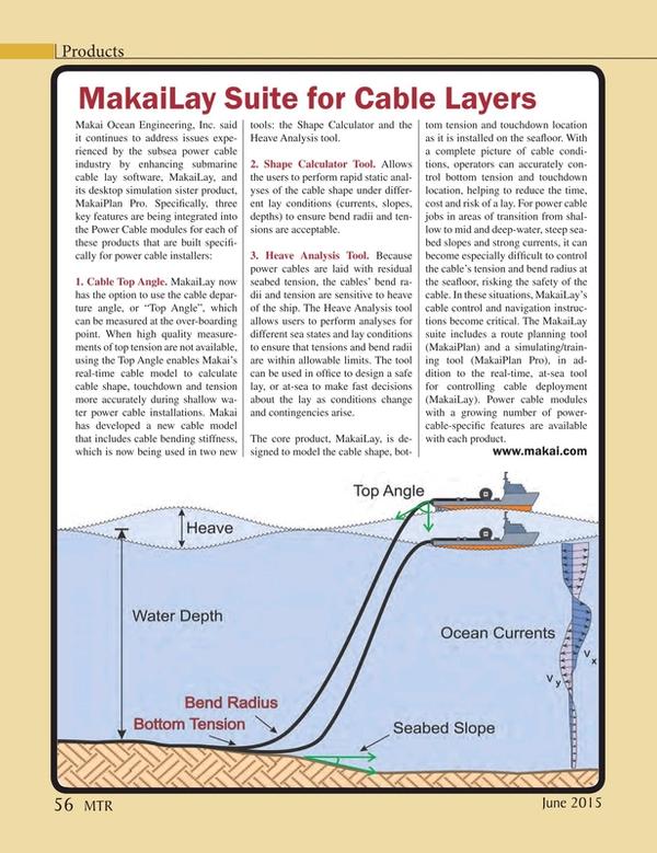 Marine Technology Magazine, page 56,  Jun 2015