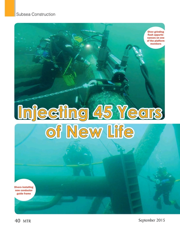 Marine Technology Magazine, page 40,  Sep 2015