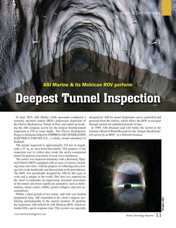Marine Technology Magazine, page 53,  Sep 2015