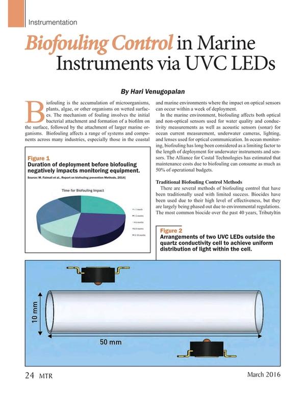 Marine Technology Magazine, page 24,  Mar 2016