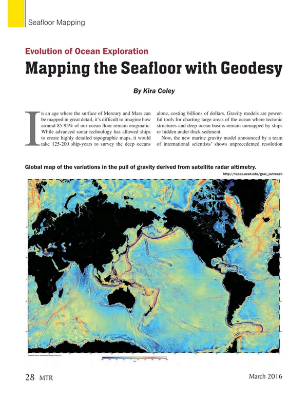 Marine Technology Magazine, page 28,  Mar 2016