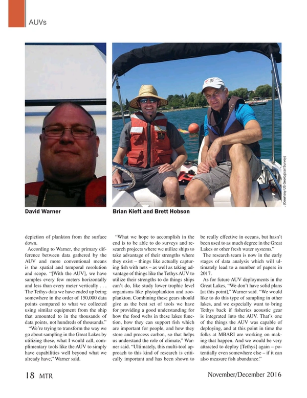 Marine Technology Magazine, page 18,  Nov 2016