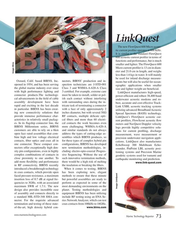 Marine Technology Magazine, page 73,  Mar 2017
