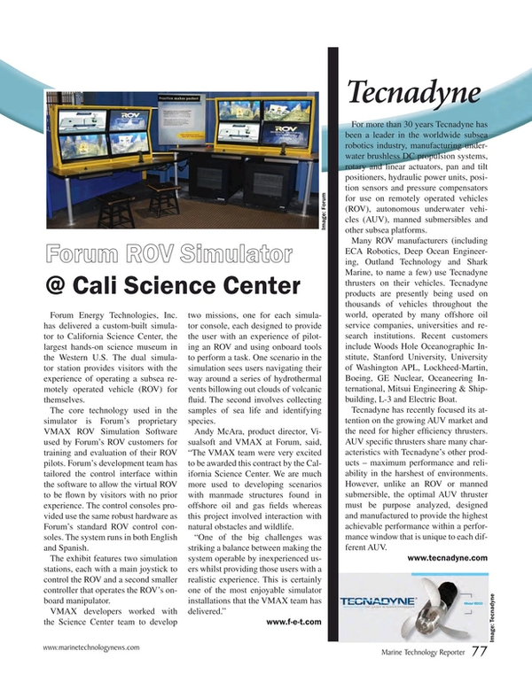 Marine Technology Magazine, page 77,  Mar 2017