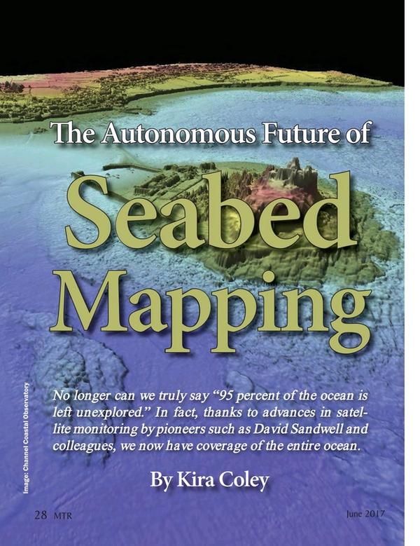 Marine Technology Magazine, page 28,  Jun 2017