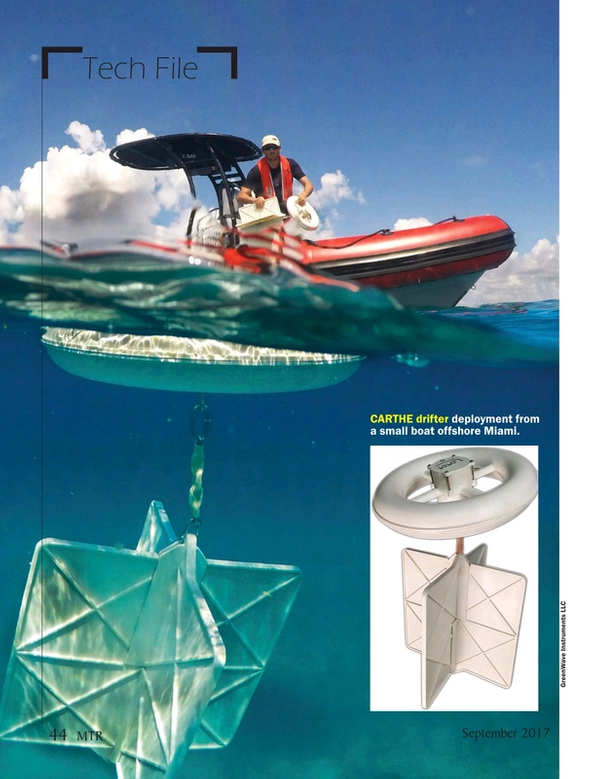 Marine Technology Magazine, page 44,  Sep 2017